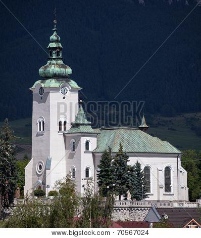 Church In Town Ruzomberok, Slovakia