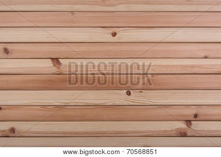 Wooden wall.