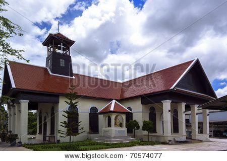 Christian Church In Chiang Rai City.