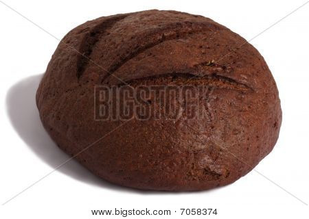 Single Loaf Of Black Bread