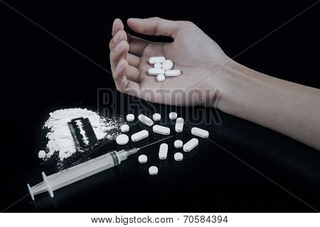 Concept Of Drug User Overdose