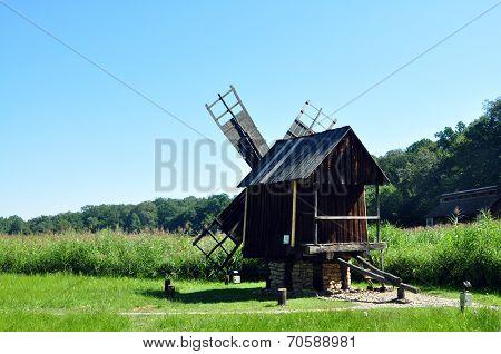 Sibiu Ethno Museum Wind Mill