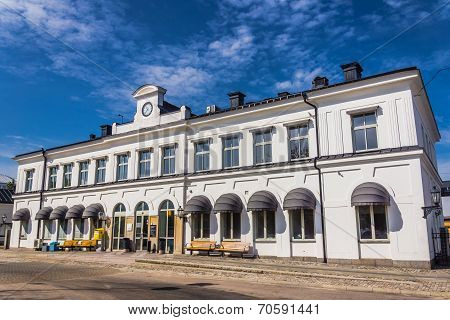 Train station in Karlskrona