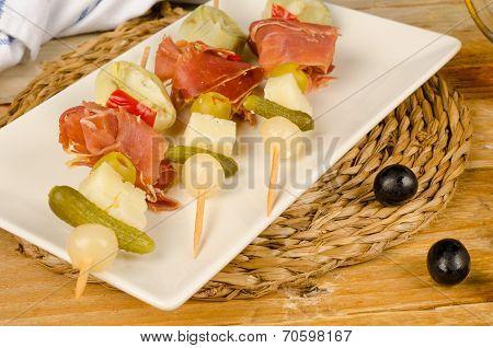 Serrano Ham Tapa