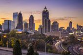 stock photo of cbd  - Atlanta - JPG