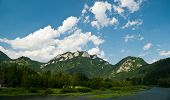 pic of pieniny  - Three Crowns in Pieniny mountains on the polish - JPG