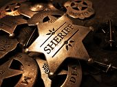 picture of iron star  - Sheriff - JPG