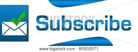 Subscribe Blue Banner
