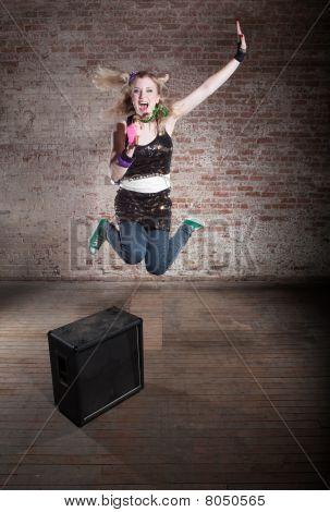 Mujer Rocker