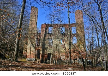 Ruins of New Manchester Mfg. Co.