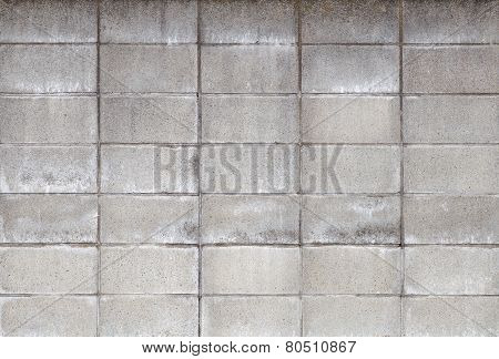 Concrete block wall texture and background seamless