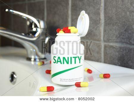 Sanity Pills In A Bottle