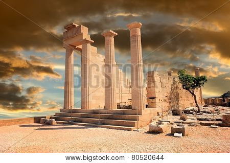 Ruins Of Ancient Temple