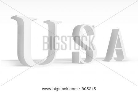 USA,  united states, America, 3d