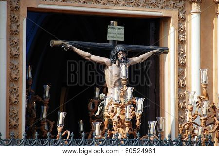 Crucifix in Santa Semana Procession.