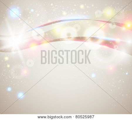 Bright and sparkling background for your presentation.