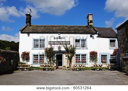 Bulls Head Pub, Ashford-in-the-Water.
