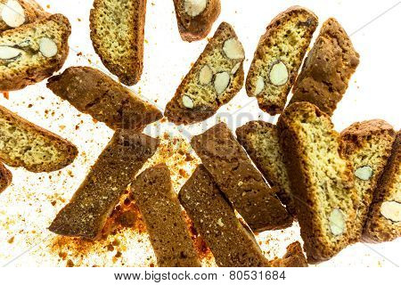Famous Italian Cookies Called Cantuccini