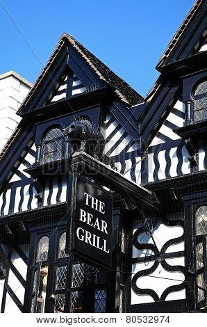 Bear Grill restaurant, Stafford.