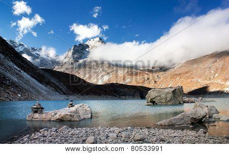 View Of Tonak Tsho Lake