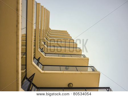 Low Angle Building Apartments