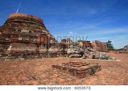 Ancient Pagoda, Ayyutthaya, Thailand