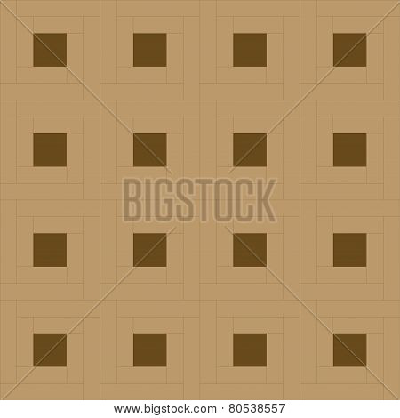 Figure laying parquet rotor