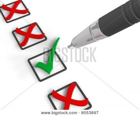 Concepto de voto