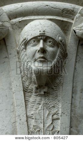Stone head, Venice