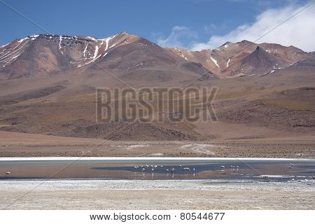 Remote mountain landscape