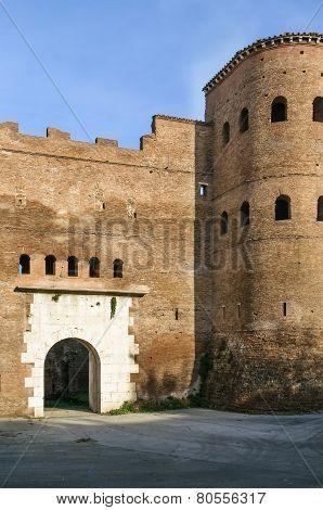 Porta Asinaria, Rome