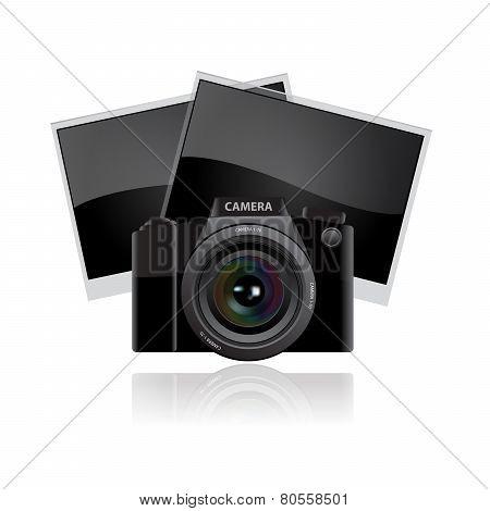 Digital camera lens.