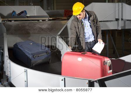 Luggage Belt Worker