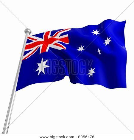 Australia 3D Flag