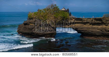 Amazing landscape at Tanah Lot temple, Bali. Indonesia