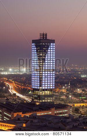 Wataniya HQ Building in Kuwait