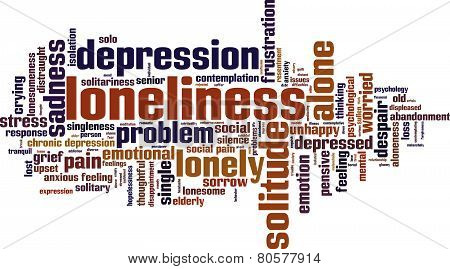 Loneliness Word Cloud