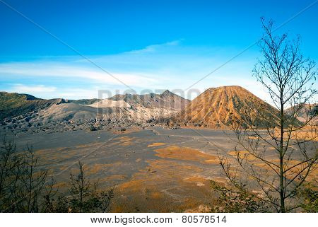 Mount Bromo Volcanic Plateau, Java, Indonesia