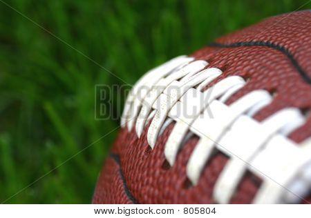 Macro of Football