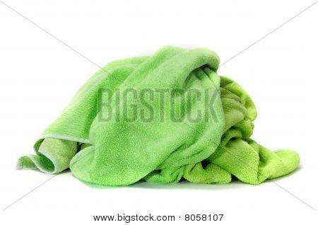 Toalla verde