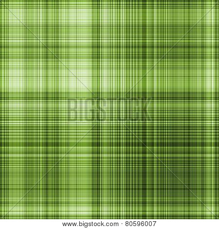 Seamless Gingham Pattern In Green