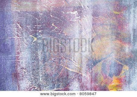 bemalt Canvas Musselin Kulissen