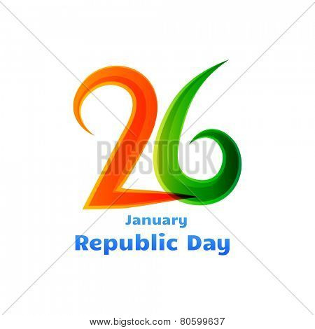 26th january republic day design for india