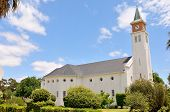 pic of south-western  - Dutch Reformed Church in Touwsriver in the Western Cape Province of South Africa - JPG