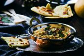 stock photo of indian  - dhal with pumpkin - JPG