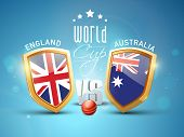 image of cricket ball  - England Vs Australia - JPG
