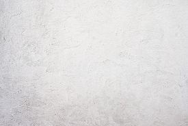picture of rusty-spotted  - stucco white wall texture background - JPG