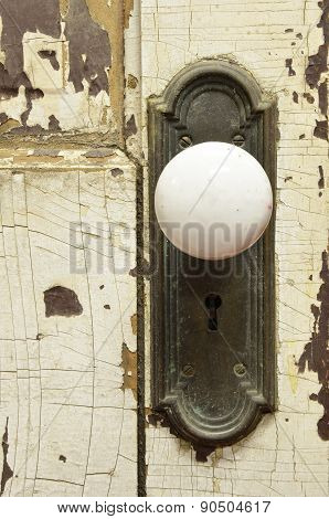 Vintage Door Close Up