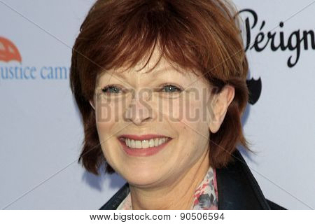 LOS ANGELES - MAY 12:  Frances Fisher at the Children's Justice Campaign Event at the Private Residence on May 12, 2015 in Beverly Hills, CA
