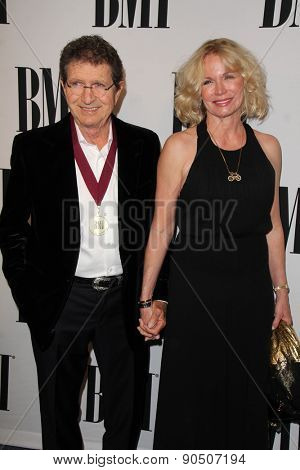 LOS ANGELES - MAY 12:  Mac Davis, Lisa Davis at the BMI Pop Music Awards at the Beverly Wilshire Hotel on May 12, 2015 in Beverly Hills, CA